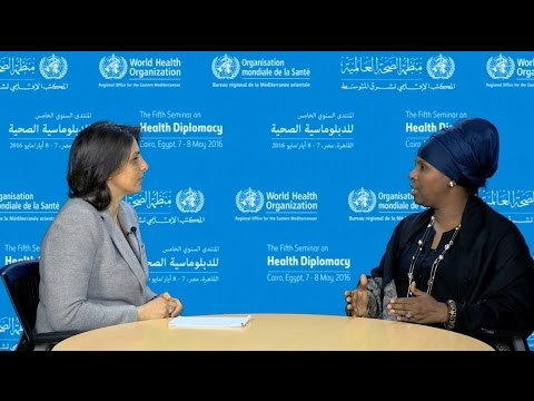 Health diplomacy: interview with HE Dr Hawa Hassan Mohamed, Minister of Health, Somalia
