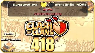 CLASH of CLANS Part 418: NEUER CK gegen Warlords Indas!