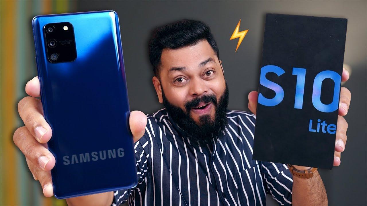Samsung Galaxy S10 Lite Unboxing y primeras impresiones Budget ¿El buque insignia de presupuesto de Samsung para las masas? + vídeo