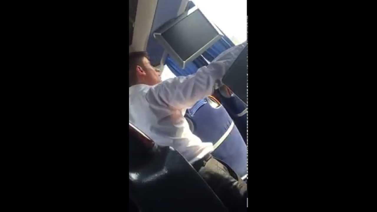 Özkaymak Turizm ( kaçak ALINAN Suriyeli yolcu muavin kavgası )