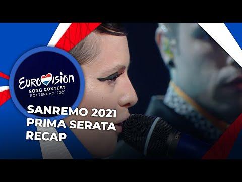Sanremo 2021 (Italy) | Prima Serata | RECAP