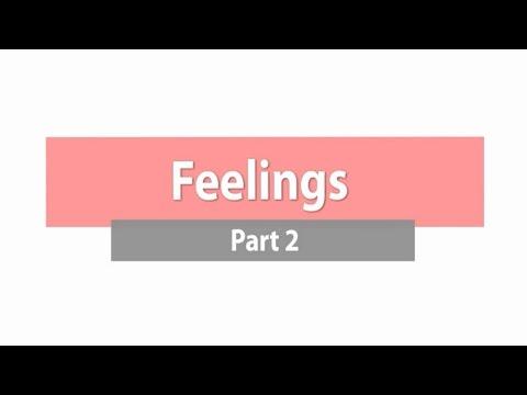 Feelings - Part 2 ภาษาอังกฤษ ม.1-3