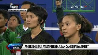 Download Video Proses Imigrasi Atlet Peserta Asian Games Hanya 1 Menit MP3 3GP MP4