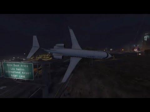 GTA 5 Northwest Airlines Flight 255 (Alarming Silence)