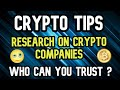 How To Research Cryptocurrencies ? | Cryptocurrency For Beginners