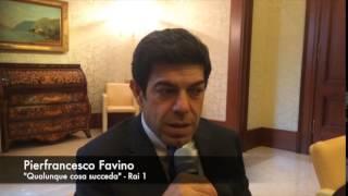 """Pierfrancesco Favino- """"La storia ha detto che ha avuto più successo Sindona di Ambrosoli"""".TVZoom.it"""