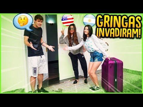 DUAS GRINGAS INVADIRAM MINHA CASA!! [ REZENDE EVIL ]