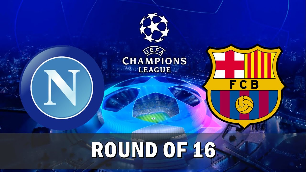 Image result for Barcelona vs Napoli Champions League Round of 16