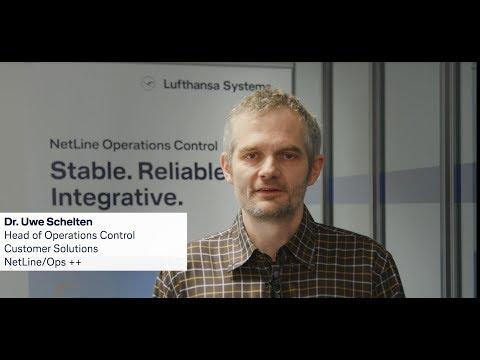 From airliner to airliner - Dr Uwe Schelten  / Lufthansa Systems