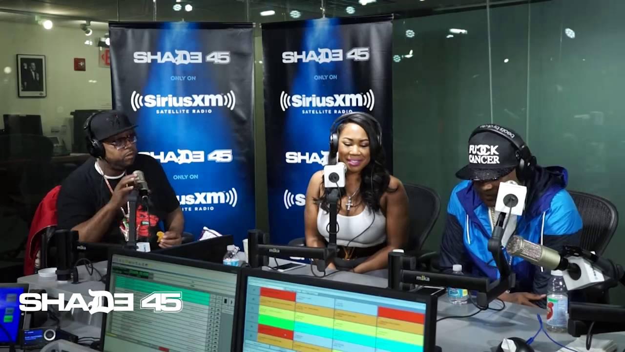 Oun P Visits StreetSweeper Radio with DJ Kayslay