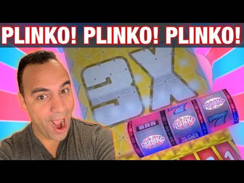 *** BONUS VIDEO *** NEW PLINKO SLOT MACHINE By IGT AT COSMO LAS VEGAS   $15 MAX Bets!!!   💰👑🎉🎰