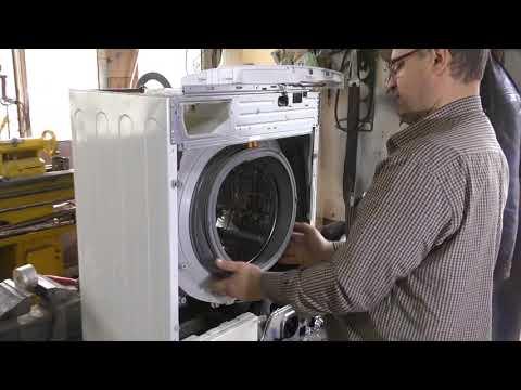 Как поменять резинку в стиральной машине lg