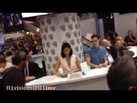 Gotham Comic Con 2015 cast signing