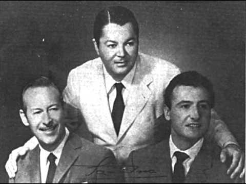 Roberto Goyeneche, Aníbal Troilo and Ángel Cárdenas