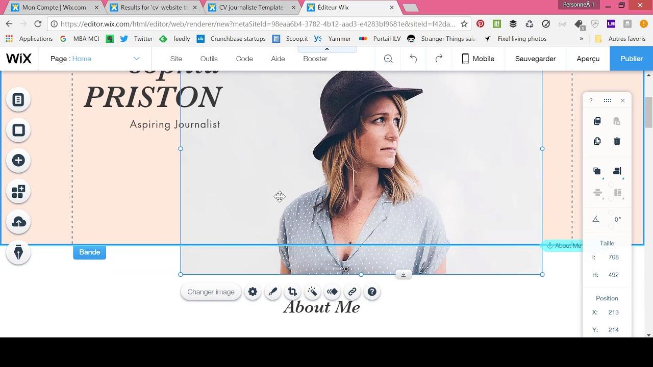 comment creer un site de rencontre sur wix