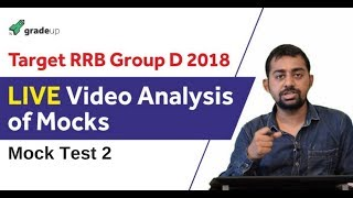 Target RRB Group D 2018| Mock test 2 Analysis|How to Solve Group D paper| Important Tips & Tricks