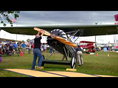 Remembering the Beginnings - A Century of Aerial Warfare at AirVenture 2016