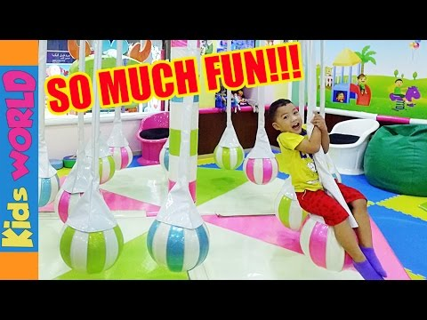 Part 1: Soft Play for Kids at Dubai Festival City | Charlie's Kids WORLD