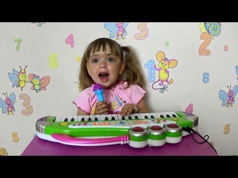 Детский микрофон караоке Азбукварик