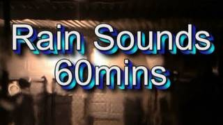 """Heavy Rain Sounds"" 60min"