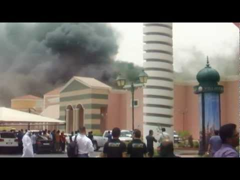 villaggio fire,in doha qatar,may 28,2012