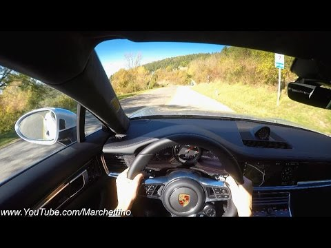 YOU Drive the 2017 Porsche Panamera Turbo! - POV Test Drive