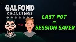 Momentum Swinging €45,000 Final Pot - Galfond Challenge Day 33