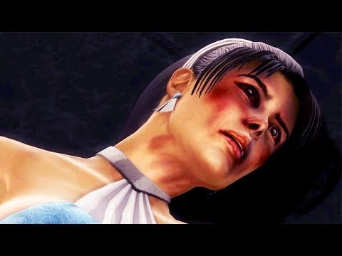 Kitana, Smoke and Jade Death Scene (Mortal Kombat 9)