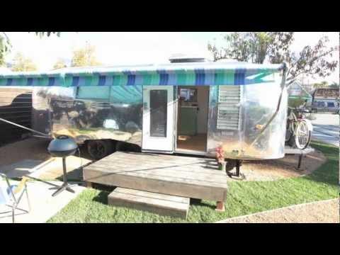 """Santa Barbara Auto Camp Airstream Hotel """"San Miguel"""""""