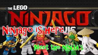 The Lego Ninjago movie is here! Let