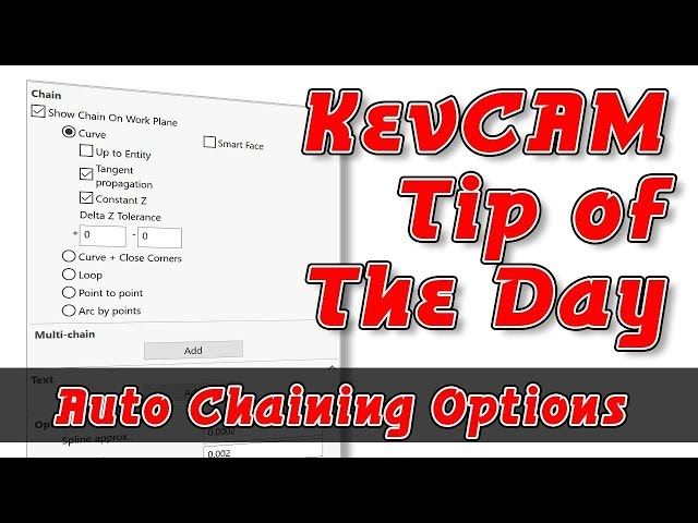Tip of the Day - Auto Chaining Options