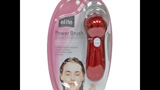 Trying Out My Elite Facial Brush