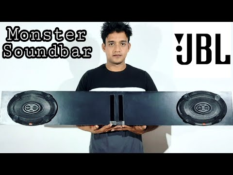 Monster Soundbar Jbl Speakers !! Power Full bass !! Beegroo !!