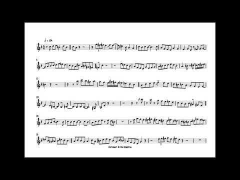 Woody Shaw 'There Will Never Be Another You' Trumpet Solo Transcription