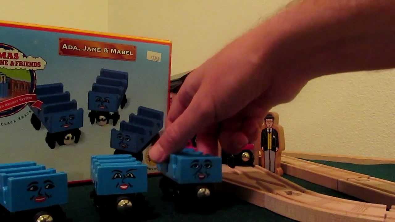 Thomas Wooden Railway Ada Jane Mabel Review