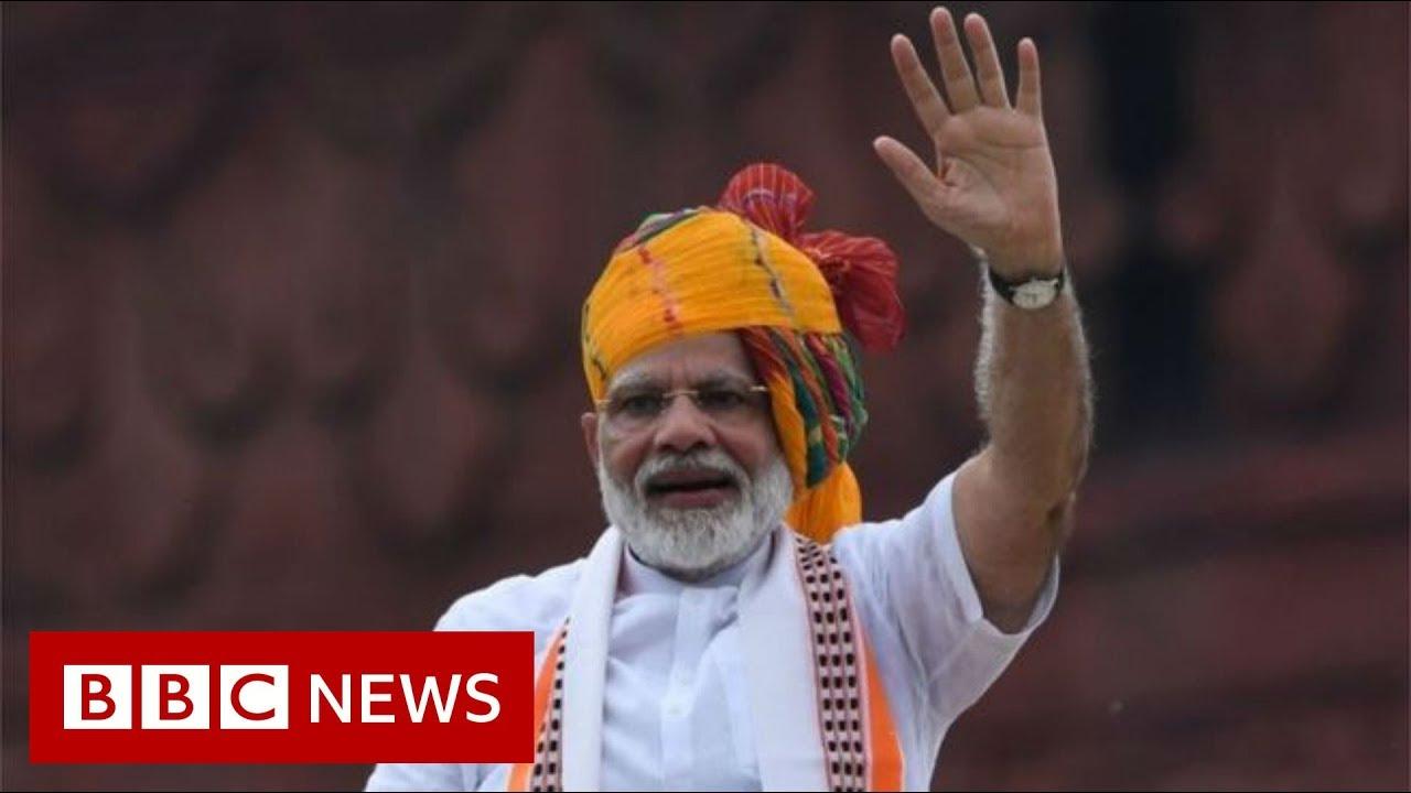 BBC News:PM Modi vows to 'restore' Kashmir's 'past glory' - BBC News