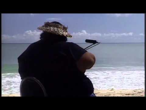 White Sandy Beach Ukulele Clip Israel Kamakawiwo Ole Youtube
