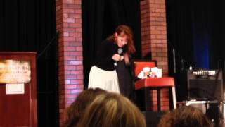chicon 2015 Ruth Connell turning crowley into an animal