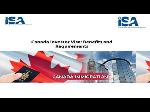 ISA Global Videos | Canadian Investor Visa Benefits