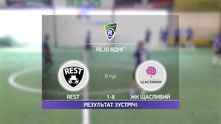 Обзор матча Rest ЖК Щасливий Турнир по мини футболу в Киеве
