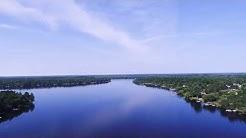 Drone Video of Lake Nebagamon (Lake Nebagamon, WI)