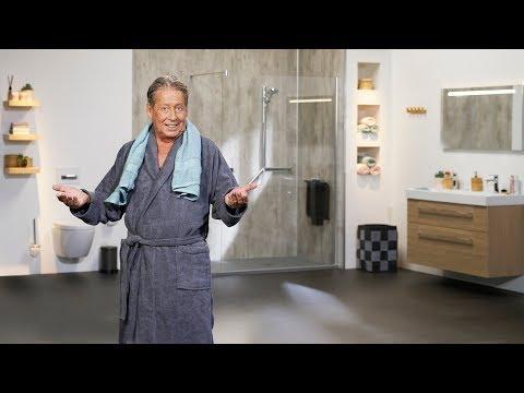 Molenaar Badkamers - TV reclame Hans Kazán - Badkamer in 1 dag