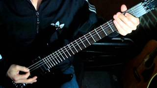 Metal Riff # 2 - Megadeth / Dave Mustaine - Angry Again Intro & Verse + TABS