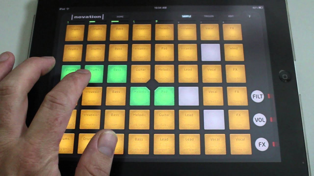 how to connect launchpad to iphone