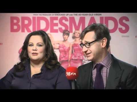 Bridesmaids Interview On 98FM Melissa McCarthy & Paul Feig