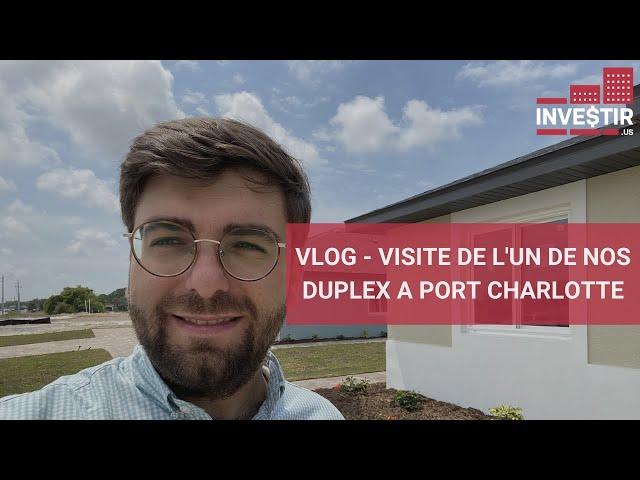 VLOG - VISITE DE L'UN DE NOS DUPLEX A PORT CHARLOTTE