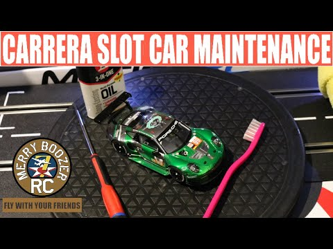 Carrera 1:32 Scale Slot Car Maintenance