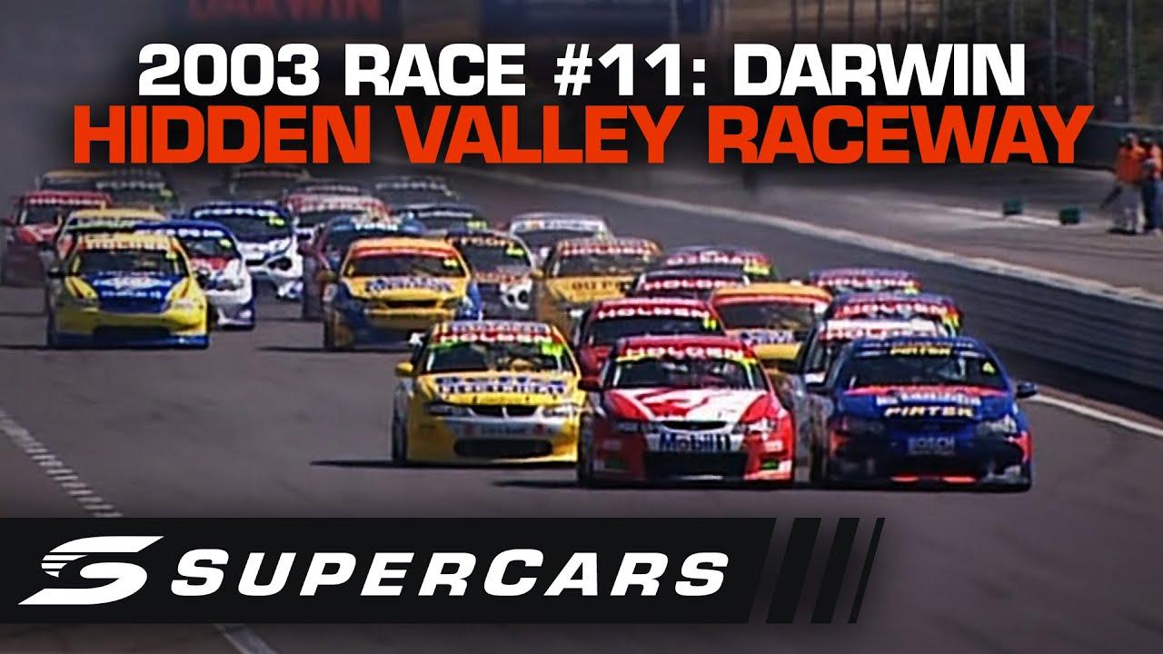FULL RACE: Race #11 2003 - Hidden Valley Raceway | V8 Supercar Championship Series