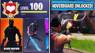 UNLOCKING WORLD'S FIRST LEVEL 100 SEASON 3! Fortnite Battle Royale Secret Unlocks and Rewards Live