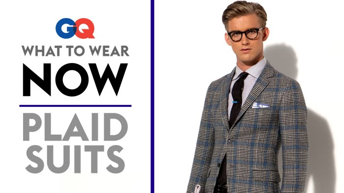 How To Wear A Plaid Suit What To Wear Now Style Guide Gq Youtube
